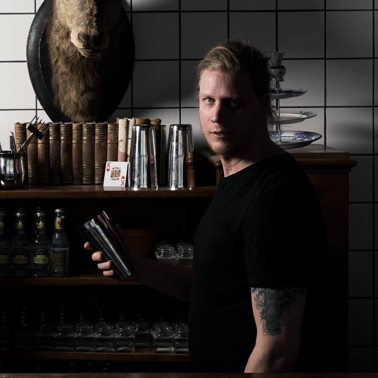 David Ammer from Cocktailkungen, Sweden